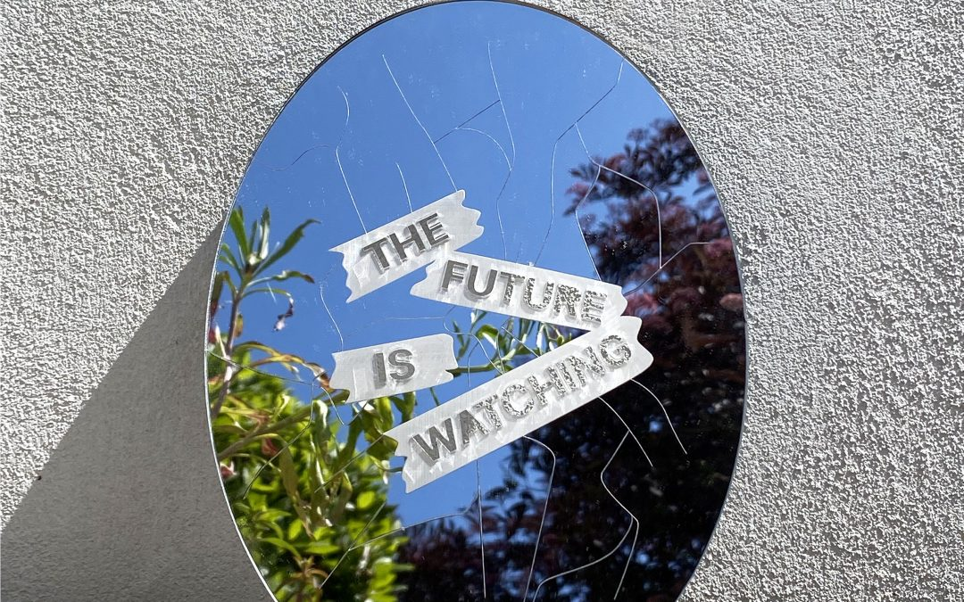 Reflection with laser cut mirror acrylic